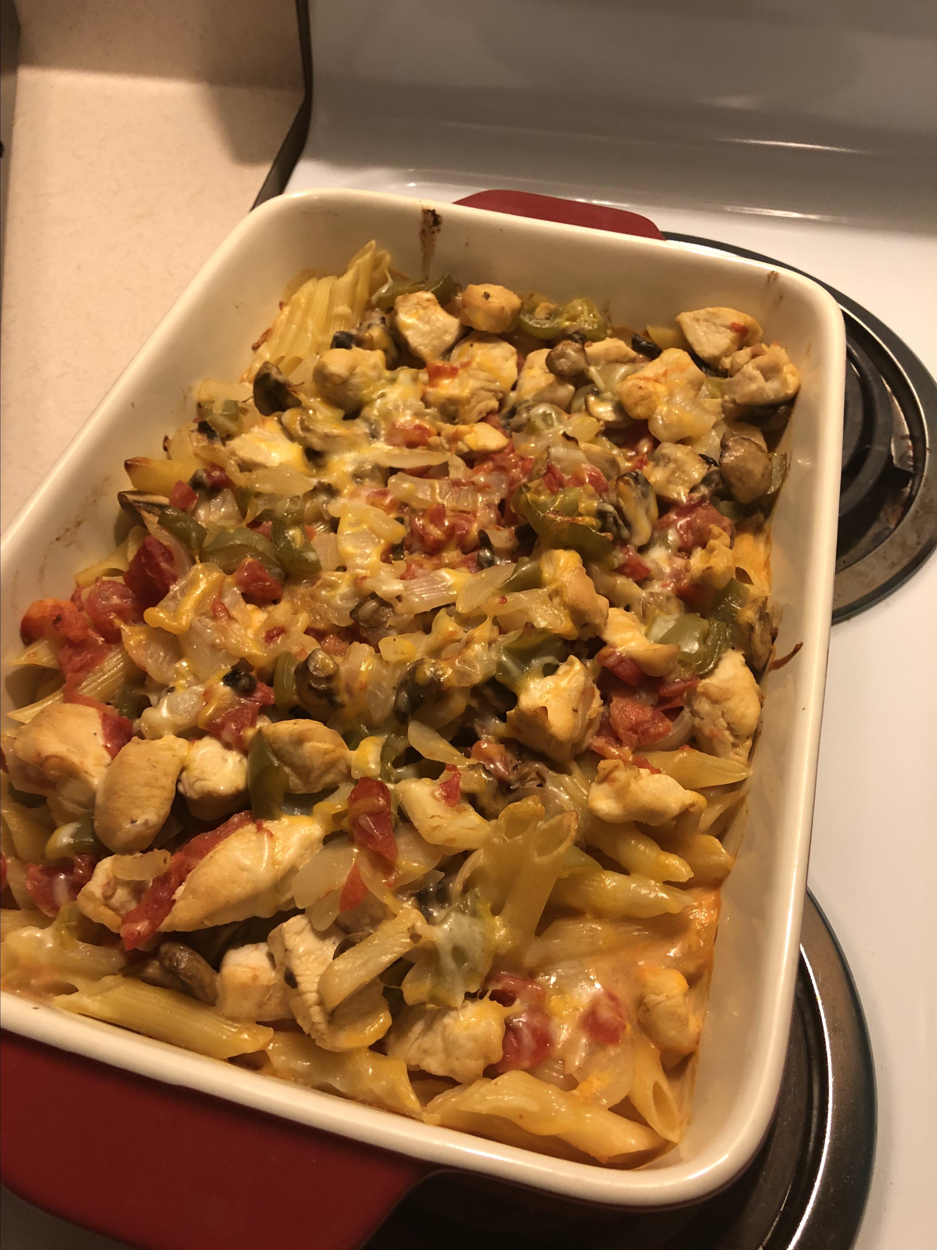 Pantry Chicken Casserole Luke Scheibel