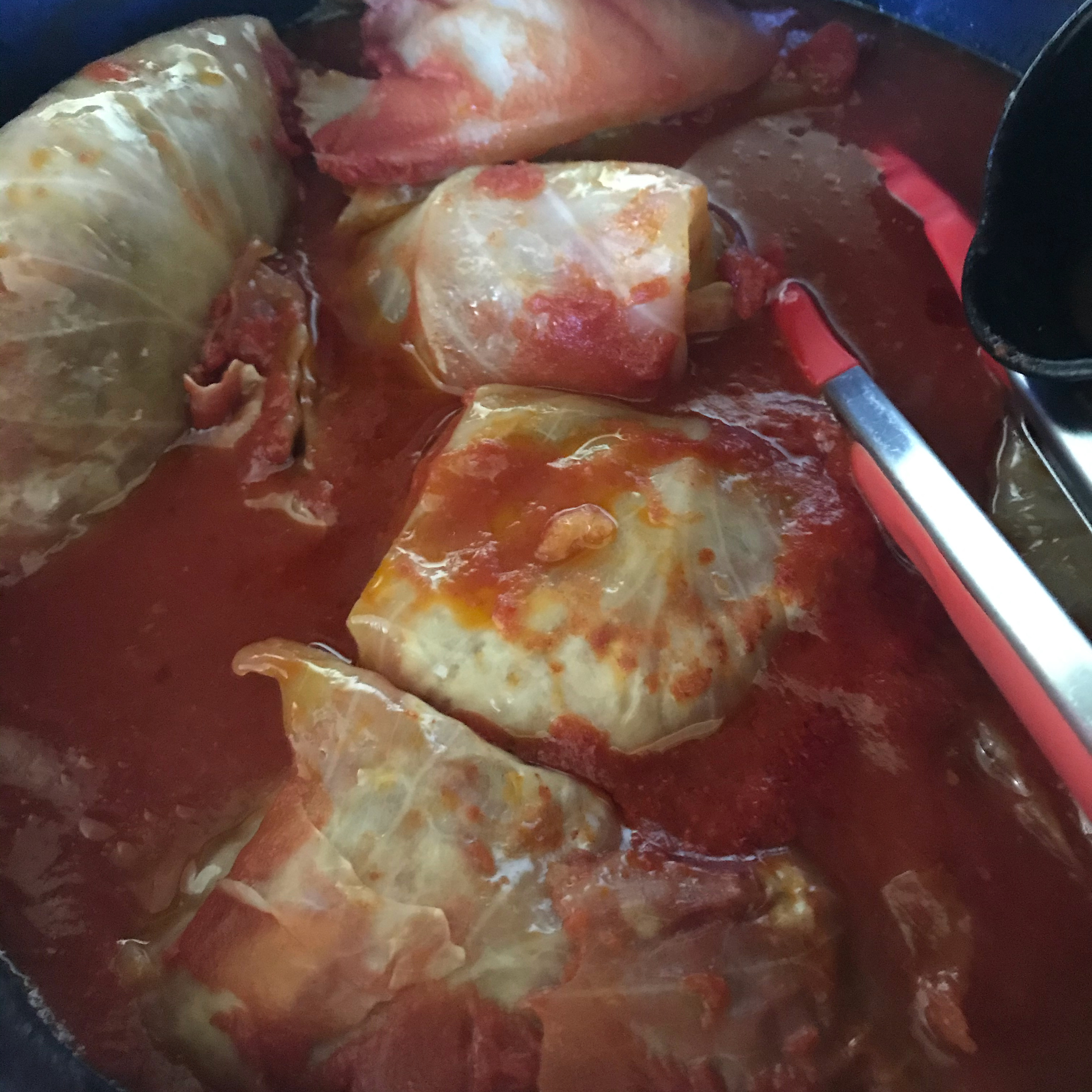 Grandma's Hungarian Stuffed Cabbage, Slow Cooker Variation
