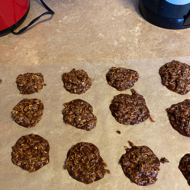 No Bake Peanut Butter Cookies I Emily K Fink