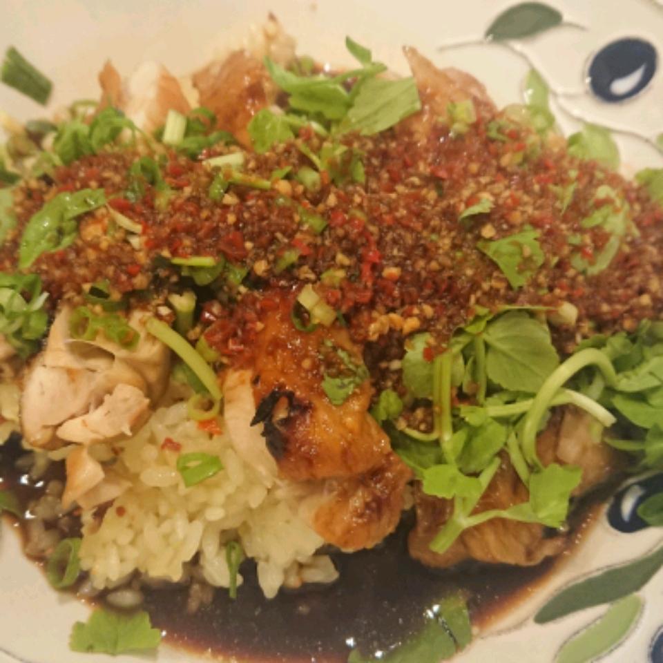 Jackie's Lemongrass Ginger Chile Chicken and Rice Chiyako K