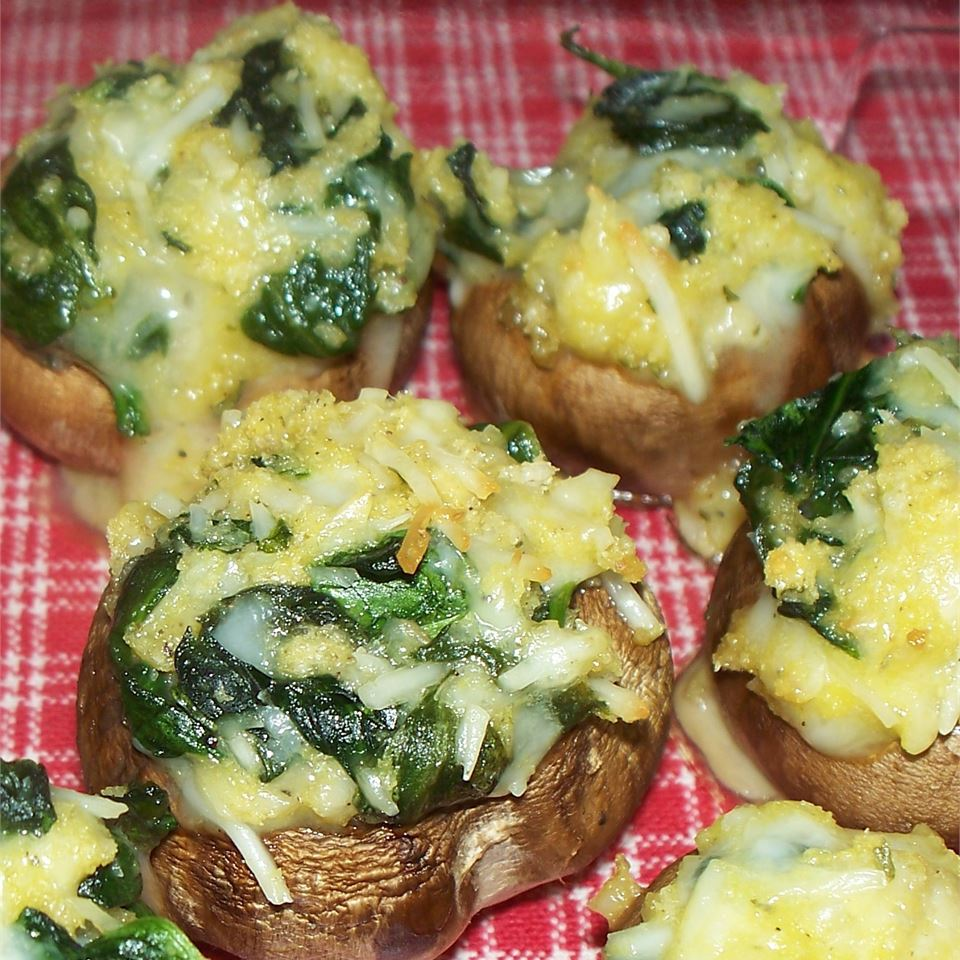 Spinach Stuffed Mushrooms It's A New Day