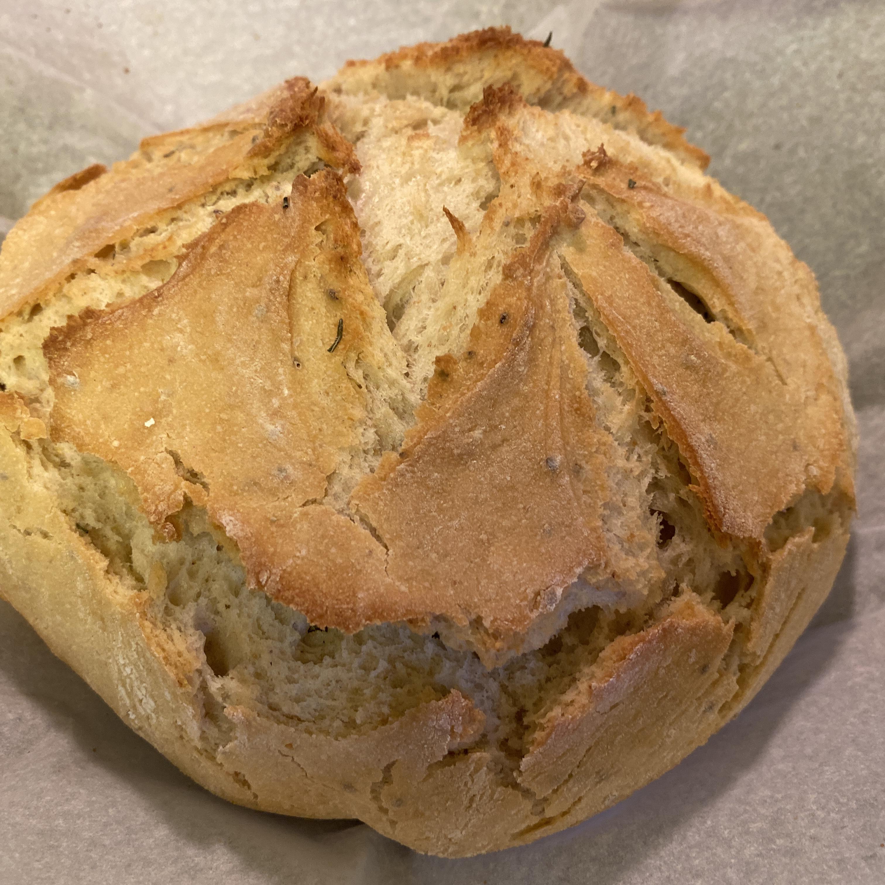 Plain and Simple Sourdough Bread
