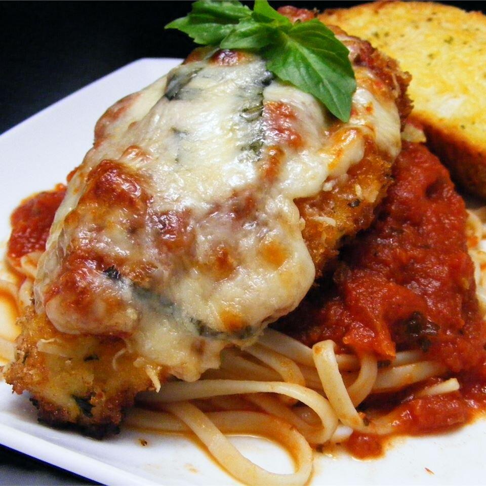 Simple Chicken Parmesan Recipe Allrecipes
