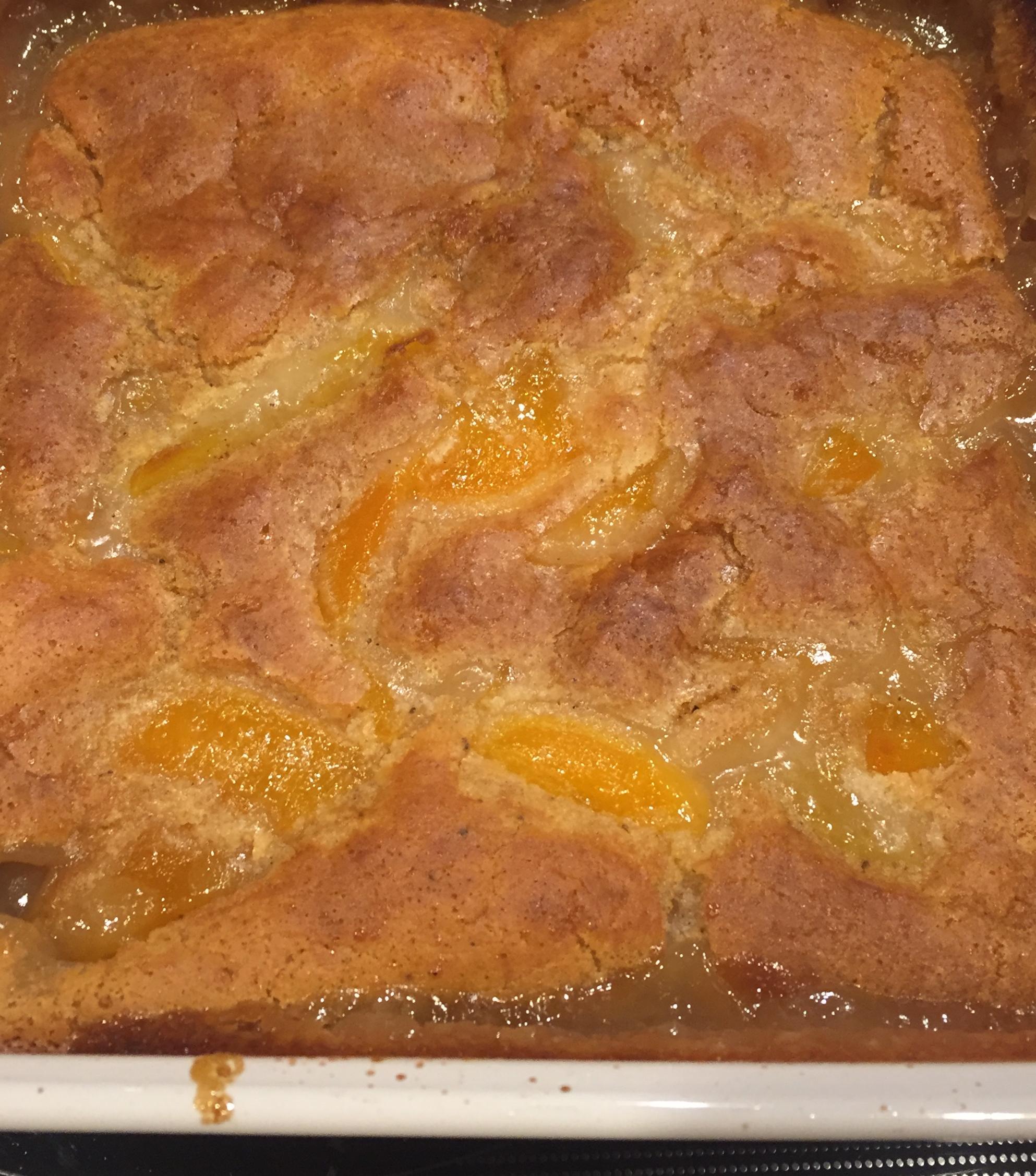 Classic Bisquick™ Peach Cobbler
