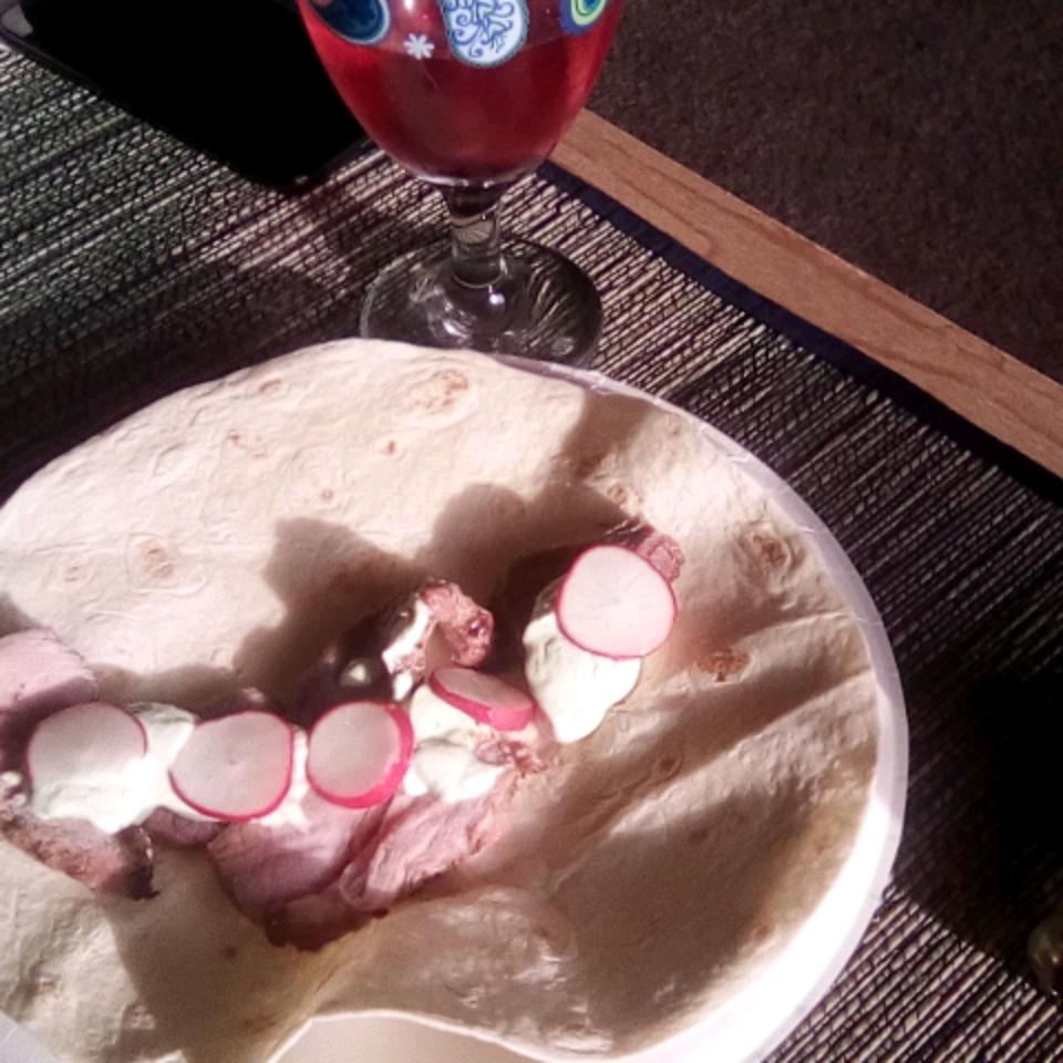 Ranch-Rubbed Carne Asada Tacos with Avocado Crema, Radish, and Lime marco pugh