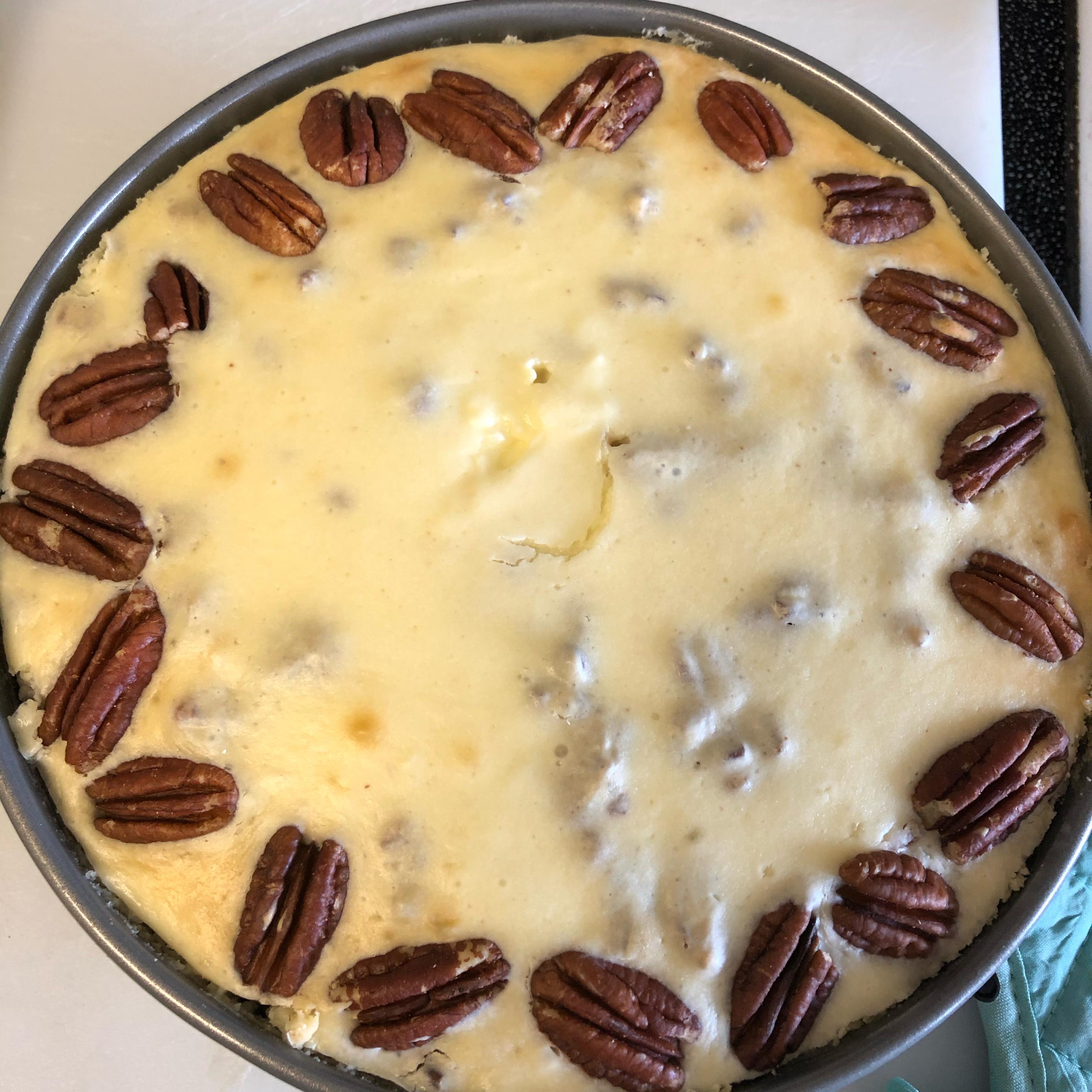 Butter Pecan Cheesecake Pat