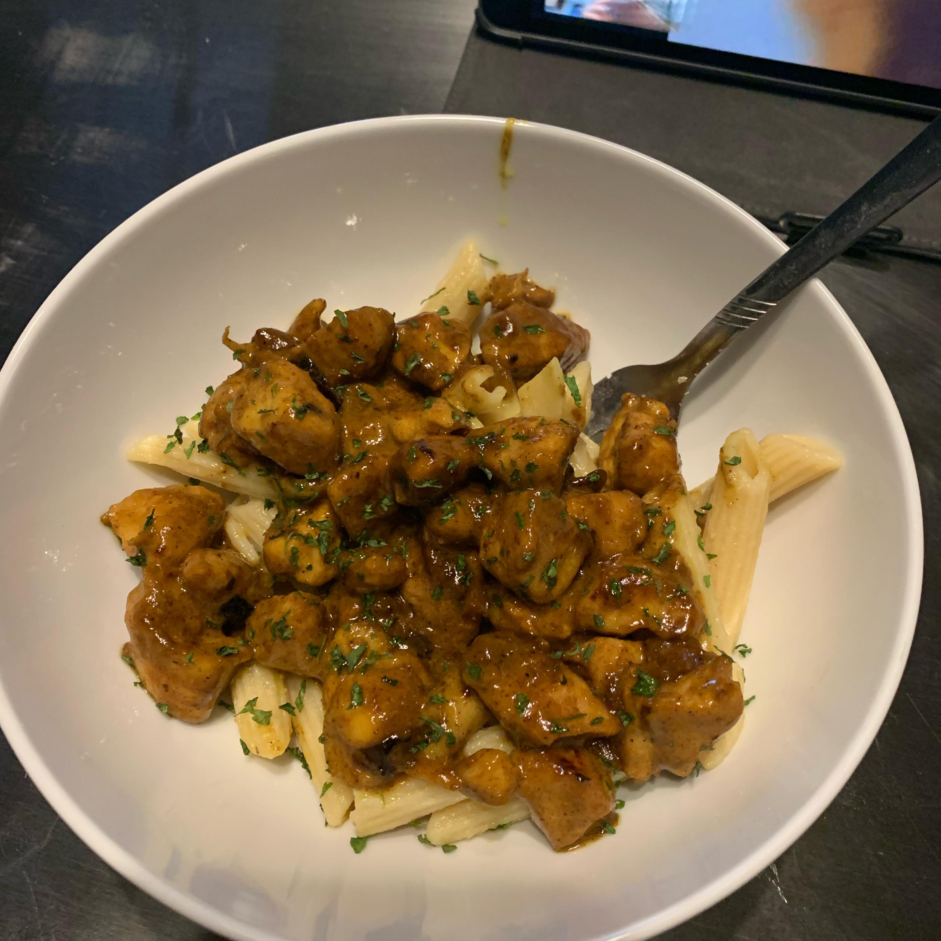 Maple Curry Chicken McGraw