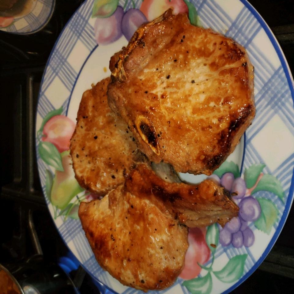 Teriyaki Pork Chops Mary Clare Lewis