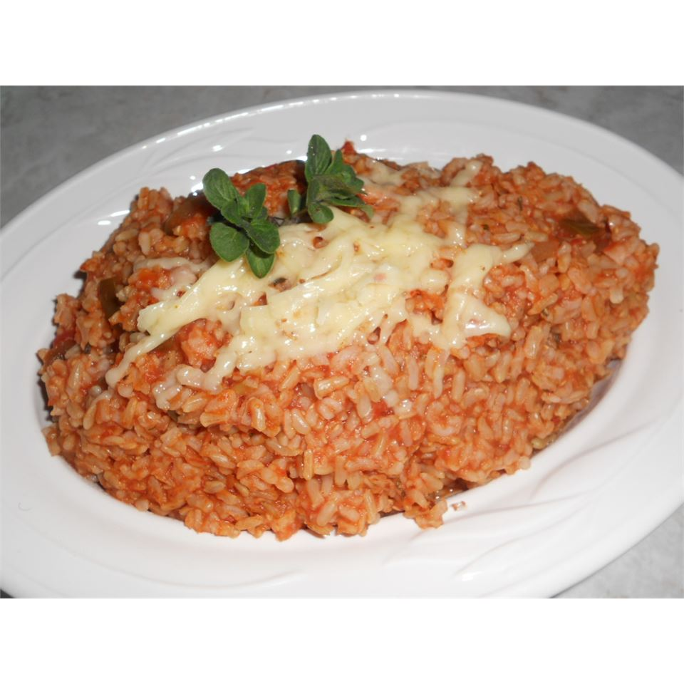 Mexican Rice Pilaf AuntE