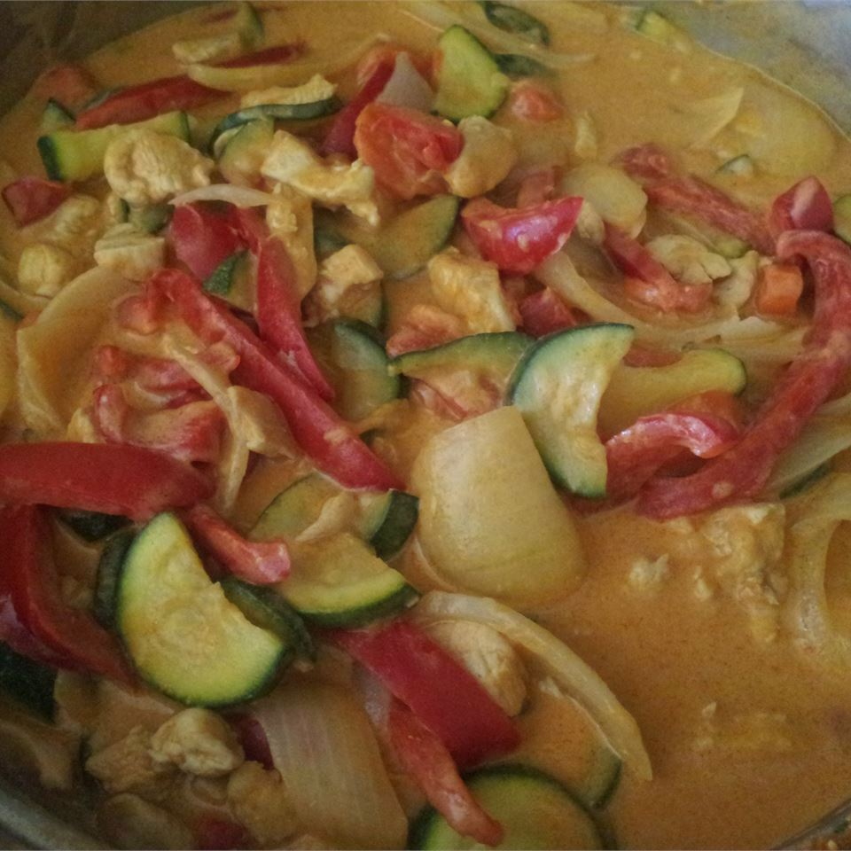 Thai Red Chicken Curry mchel210