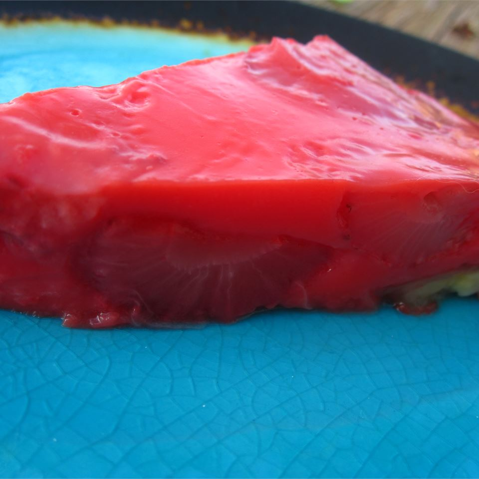 No Crust Strawberry Pie