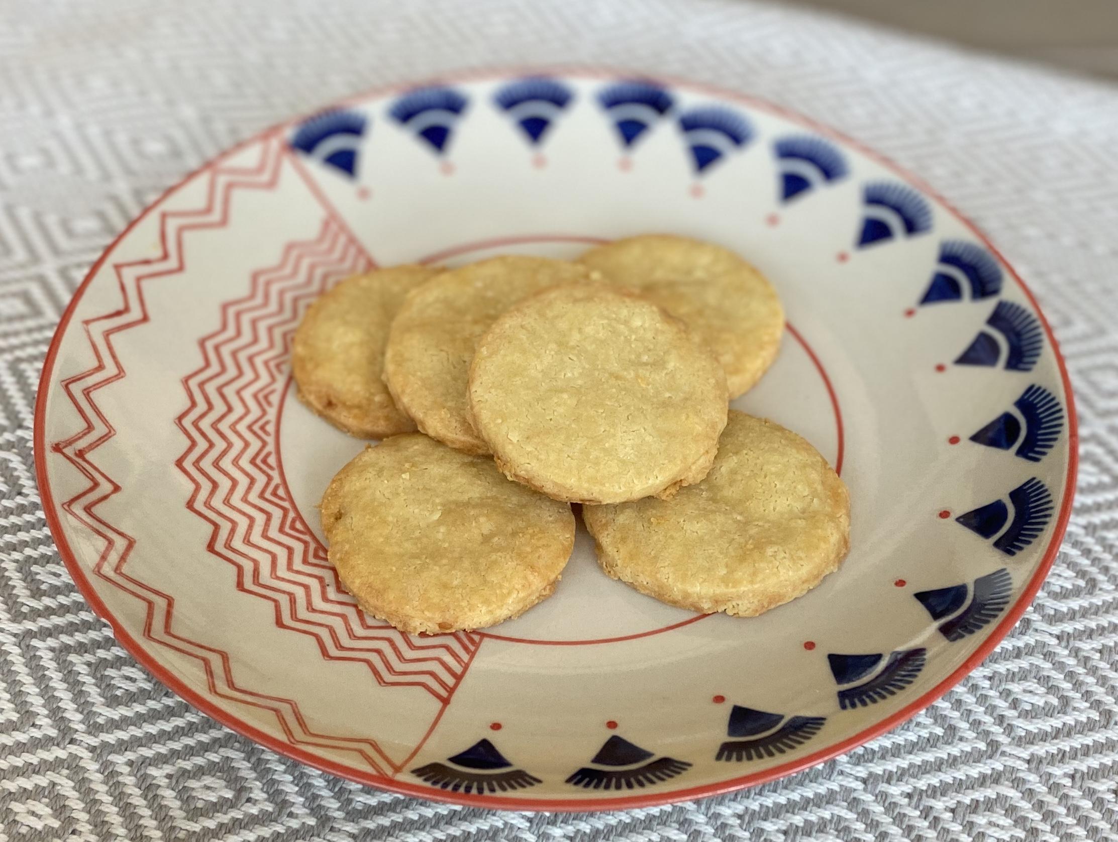 3-Ingredient Parmesan Cookies