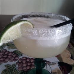 Top Shelf Margaritas on the Rocks tryingcake