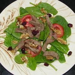 Steak and Spinach Salad Seattle2Sydney