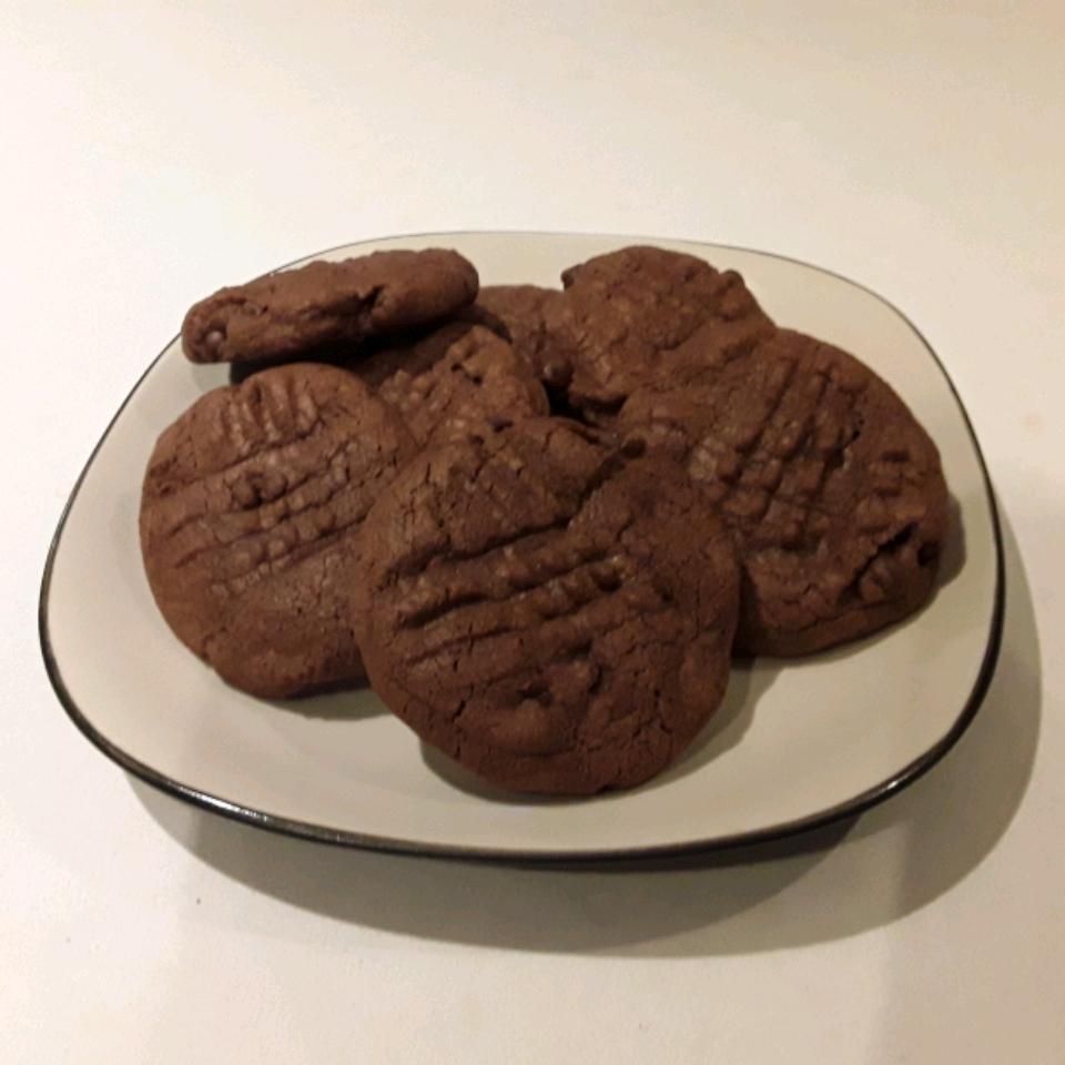 Chocolate Sugar Drop Cookies