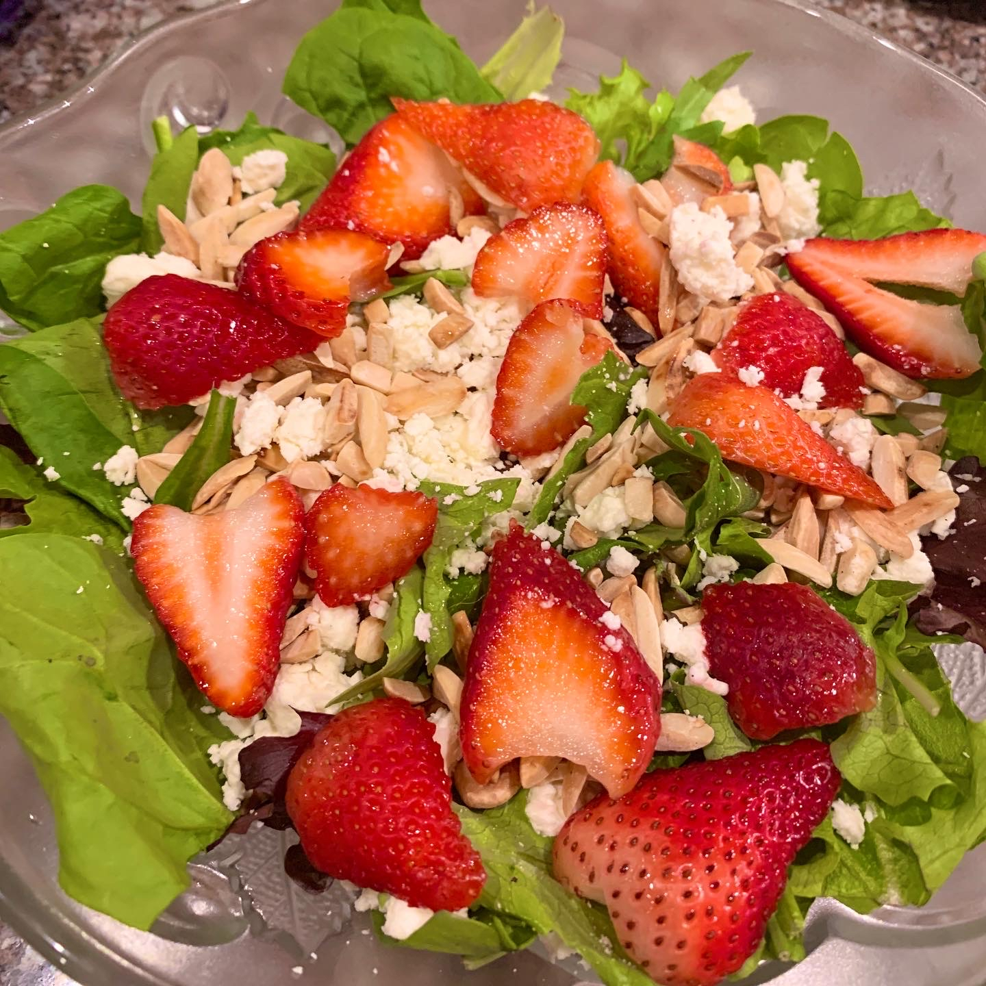 Strawberry and Feta Salad careykam