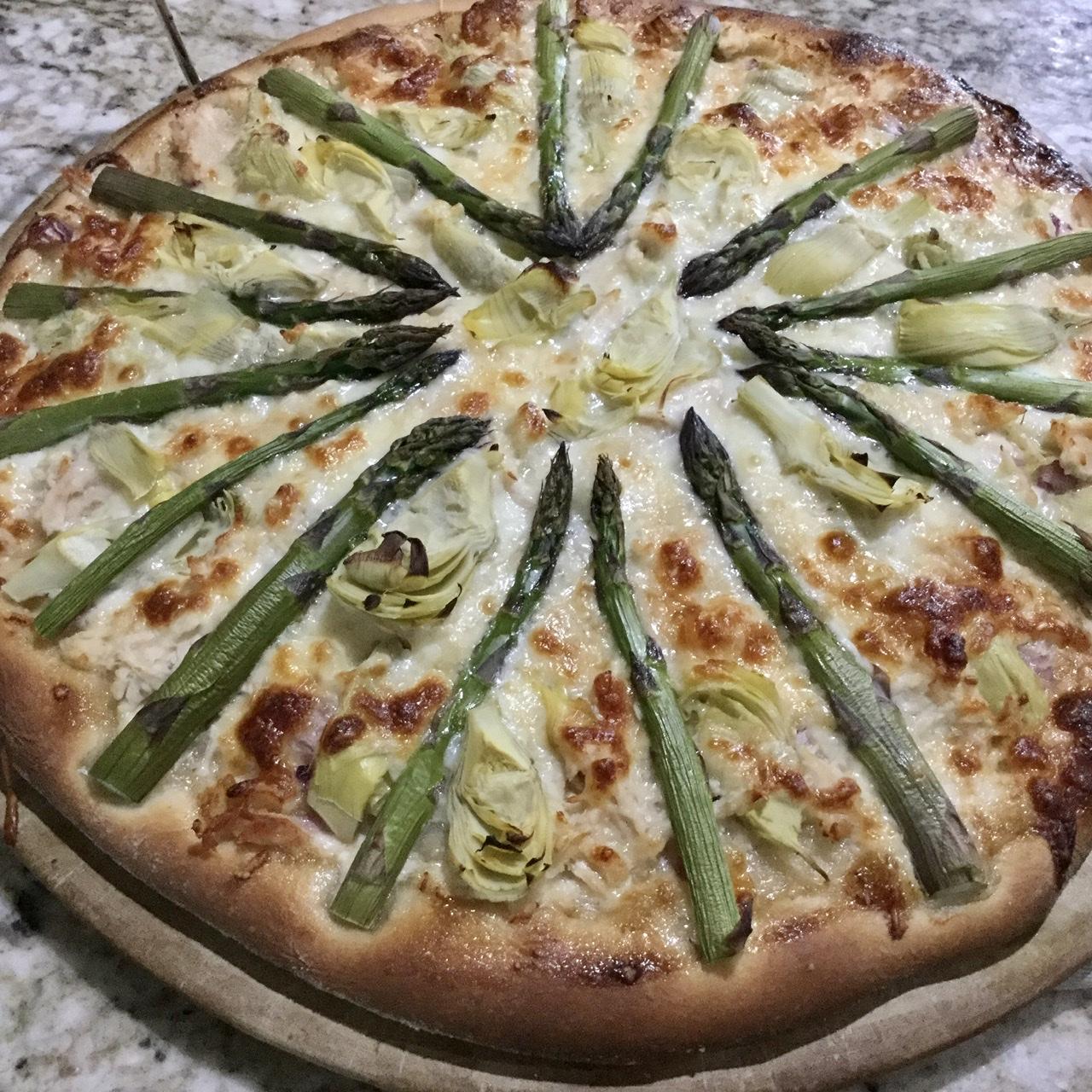 Sourdough Pizza Crust Dough Judy N
