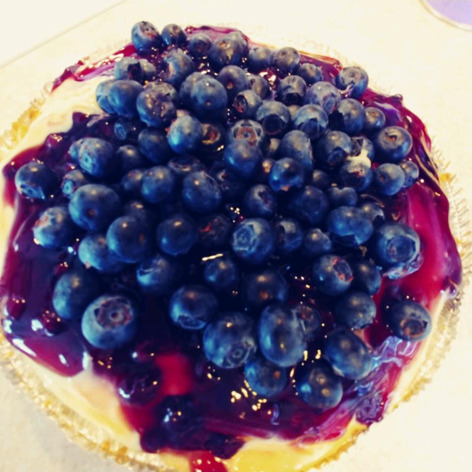 Lemony Blueberry Layered Pie dalegodfrey