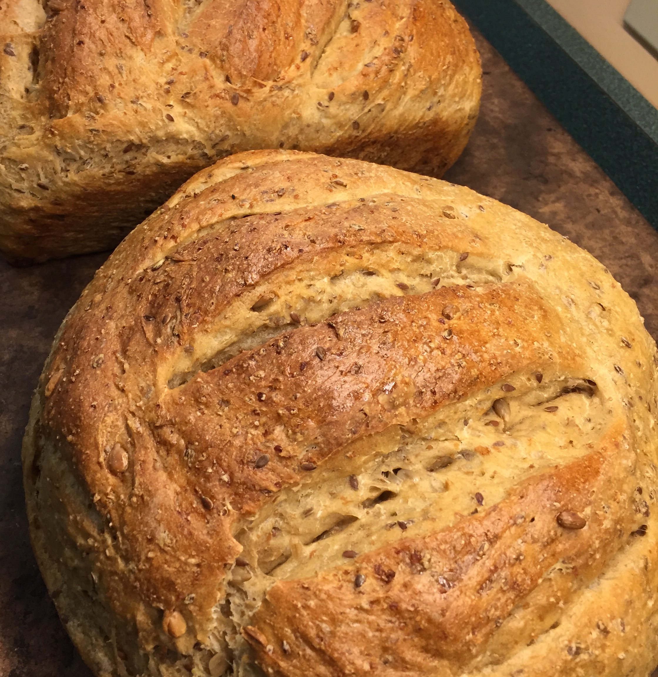 Cracked Wheat Sourdough Bread
