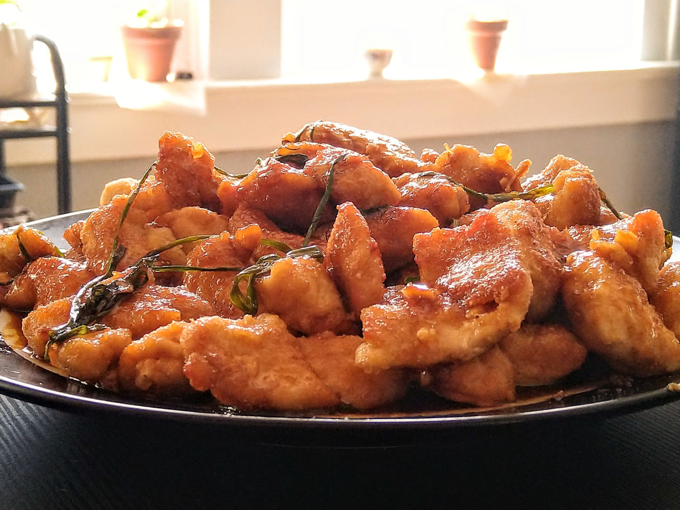 Mongolian Chicken Grey Ruessler