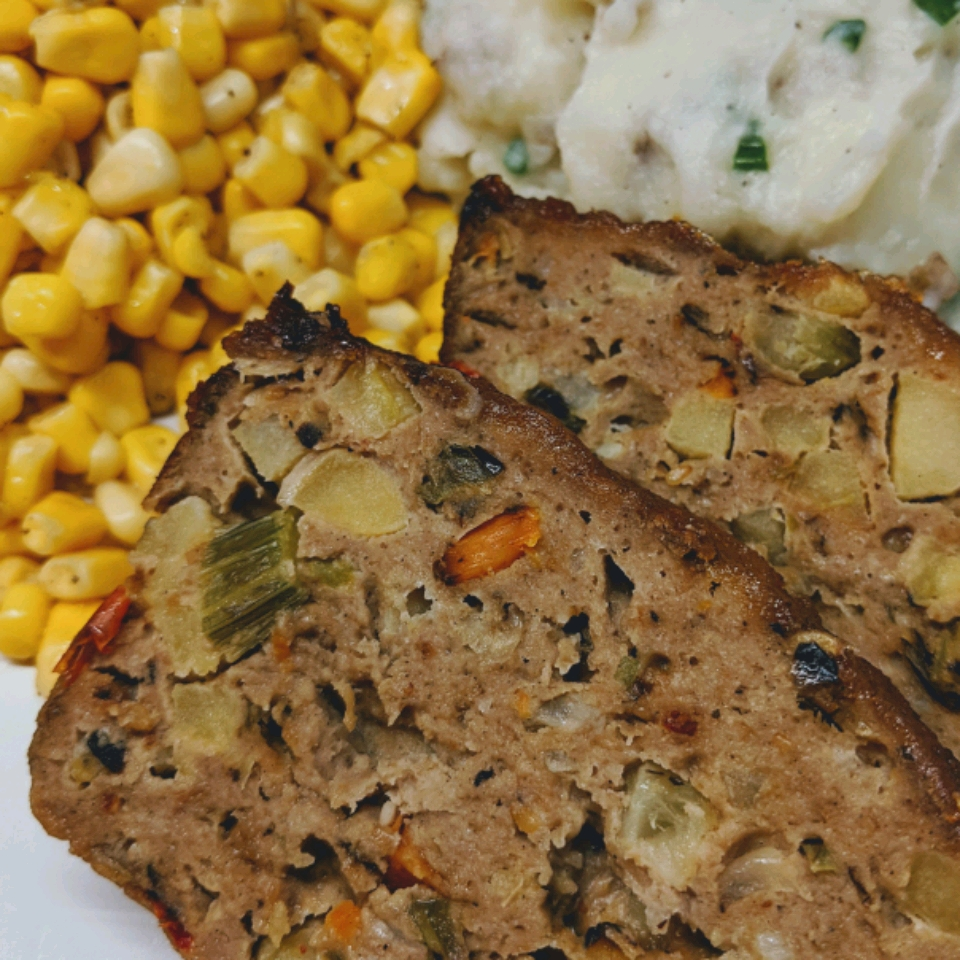 Tangy Apple Chicken Loaf