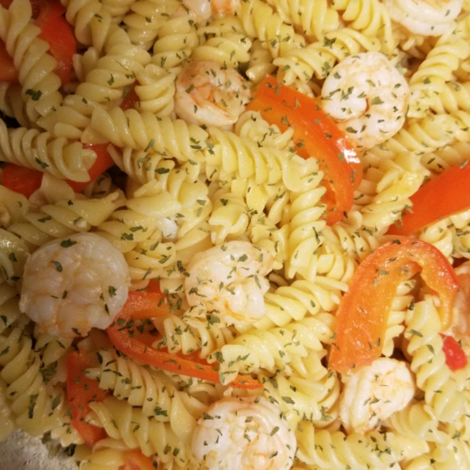 Easy Lemon-Shrimp Pasta