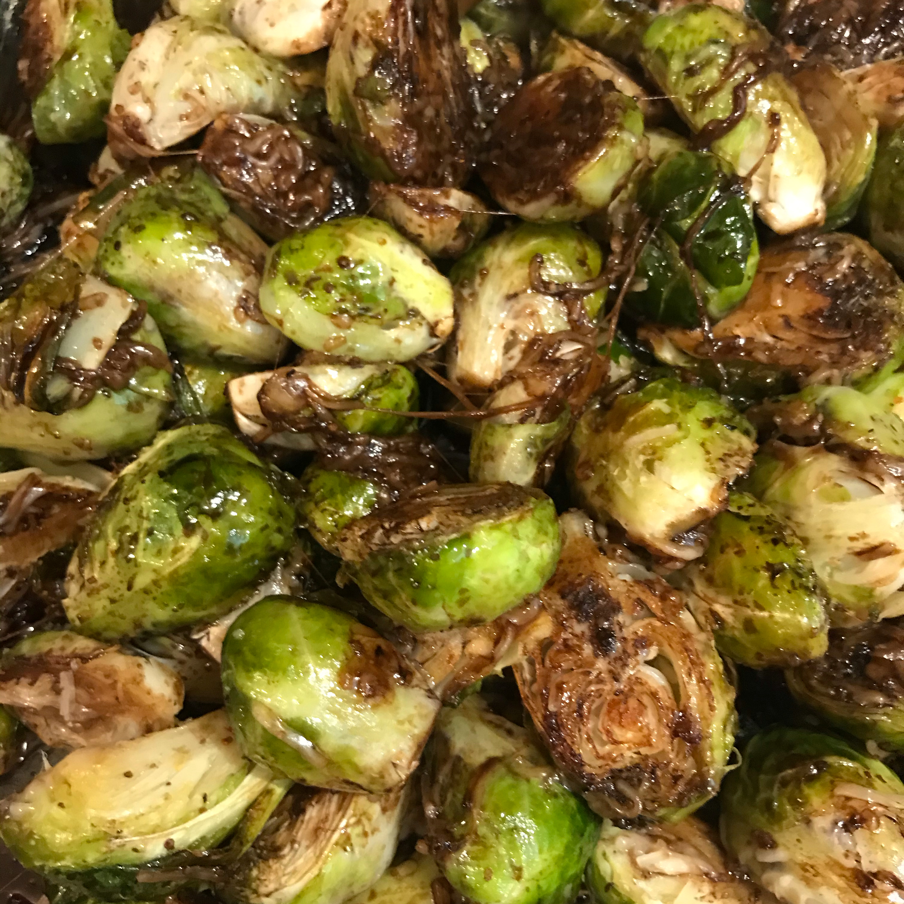 Roasted Brussels Sprouts with Parmesan Mary Kimberly Cornell Olson