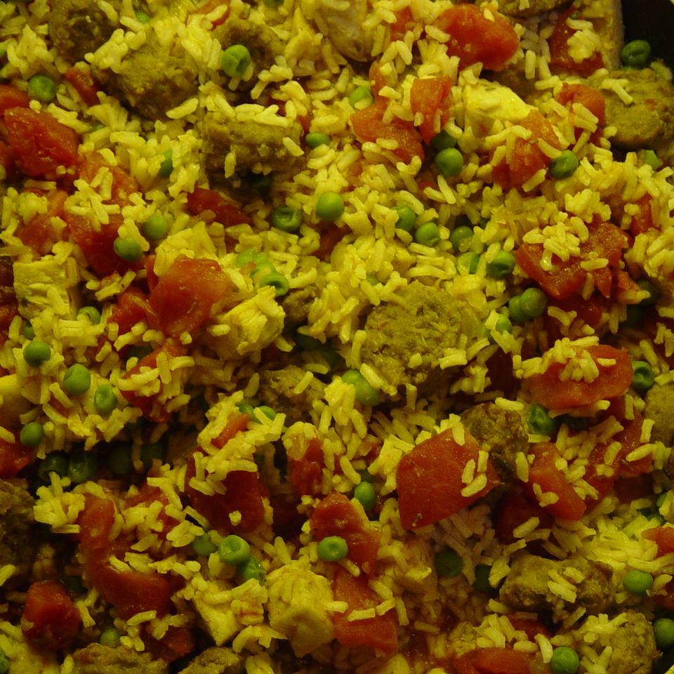 Spanish-Style Chicken and Sausage Sheri S.