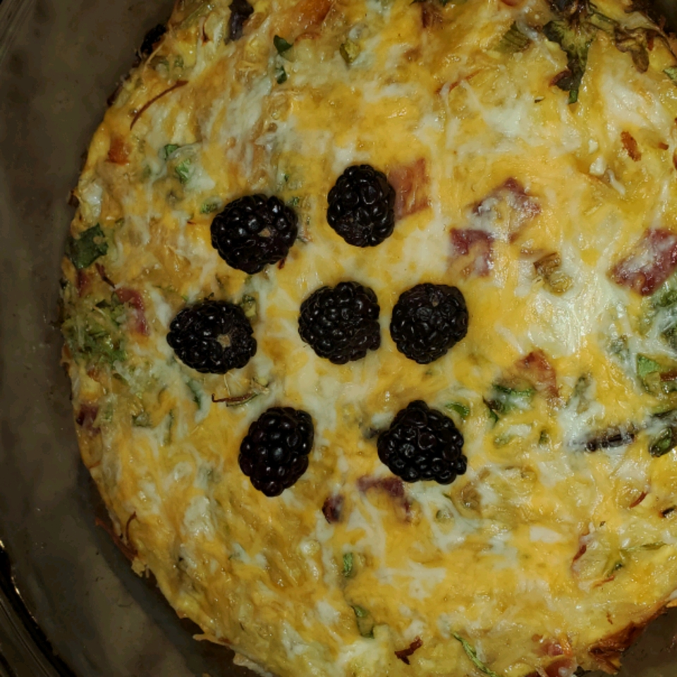 Egg and Hash Brown Pie scdew
