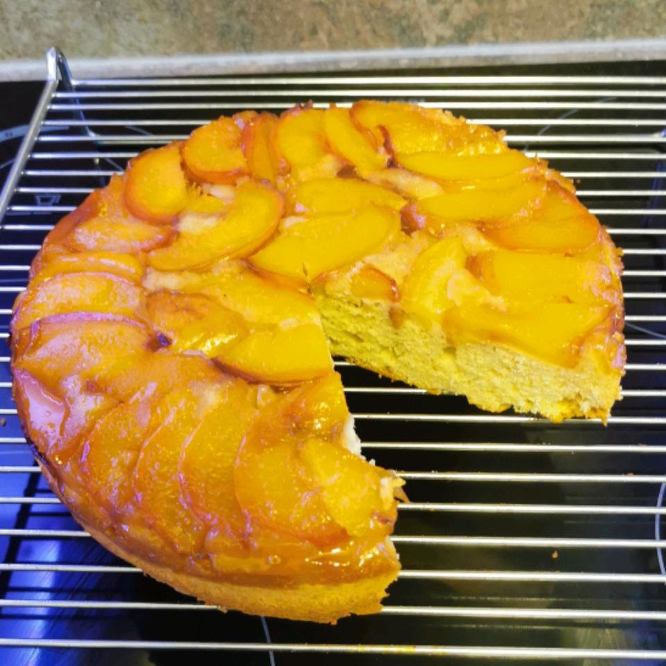 Nectarine Upside-Down Cake Bryan Hurwitz