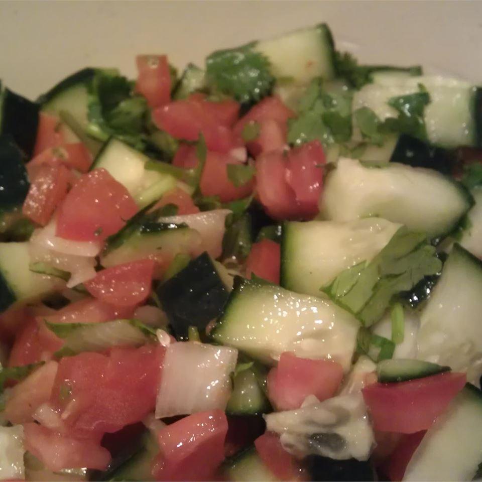 Thai Cucumber Tomato Salad MBKRH