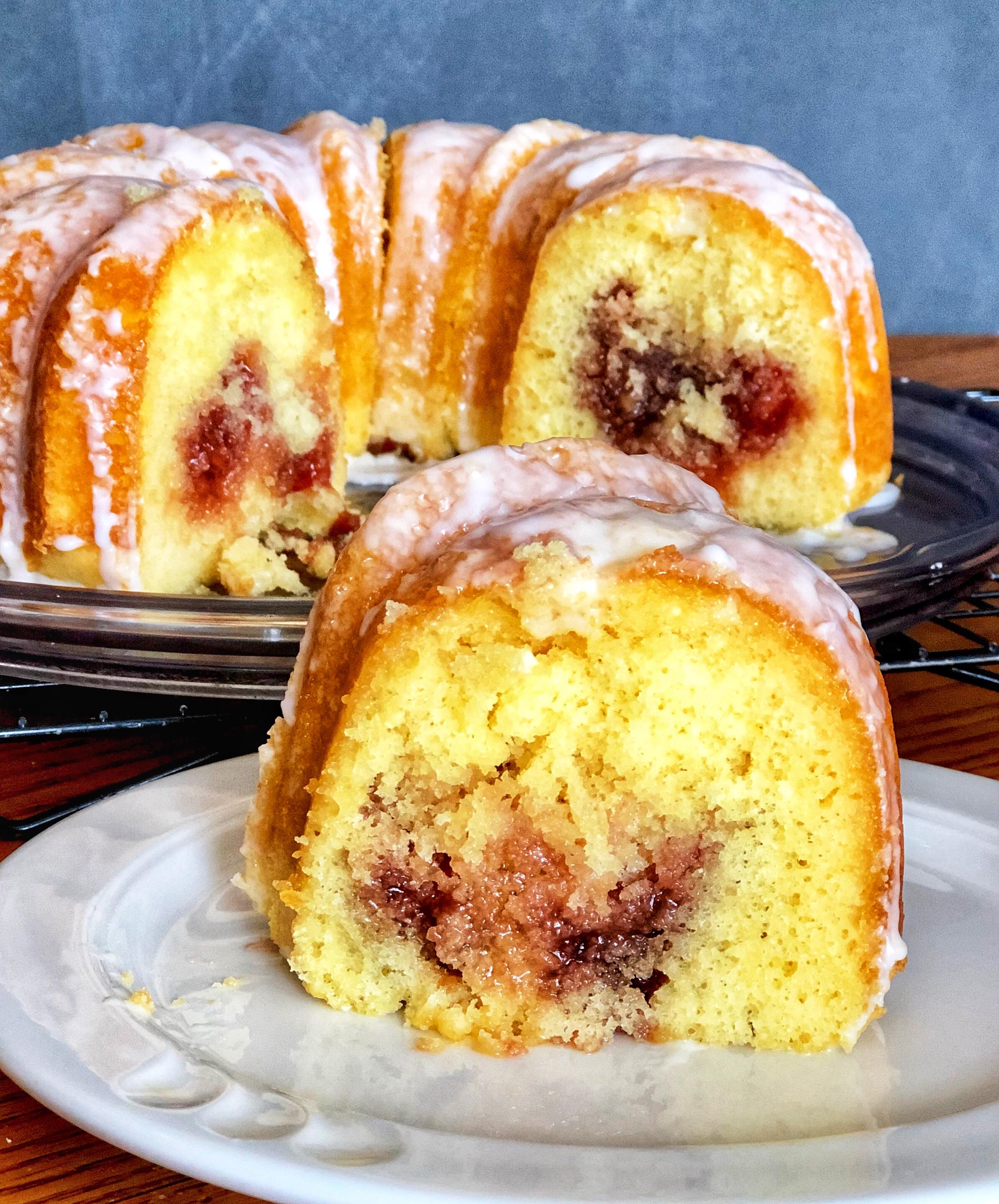 Farrah's Jelly-Filled Cake