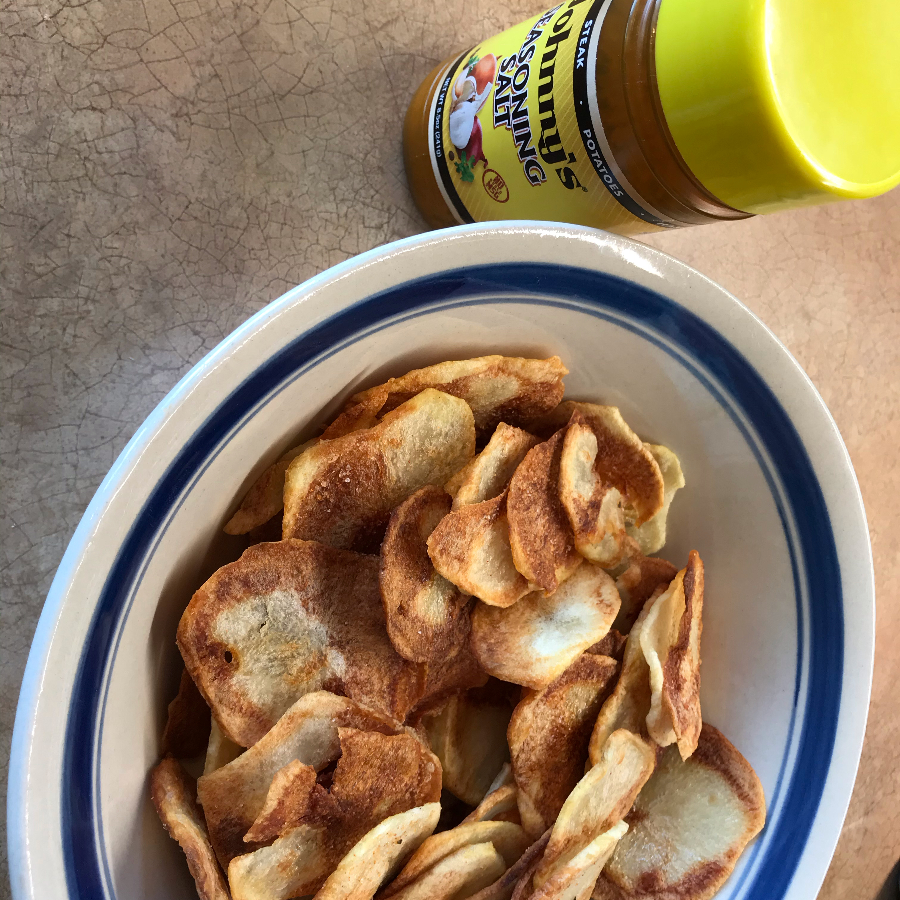 Baked Homemade Sweet Potato Chips Rosie Cooks