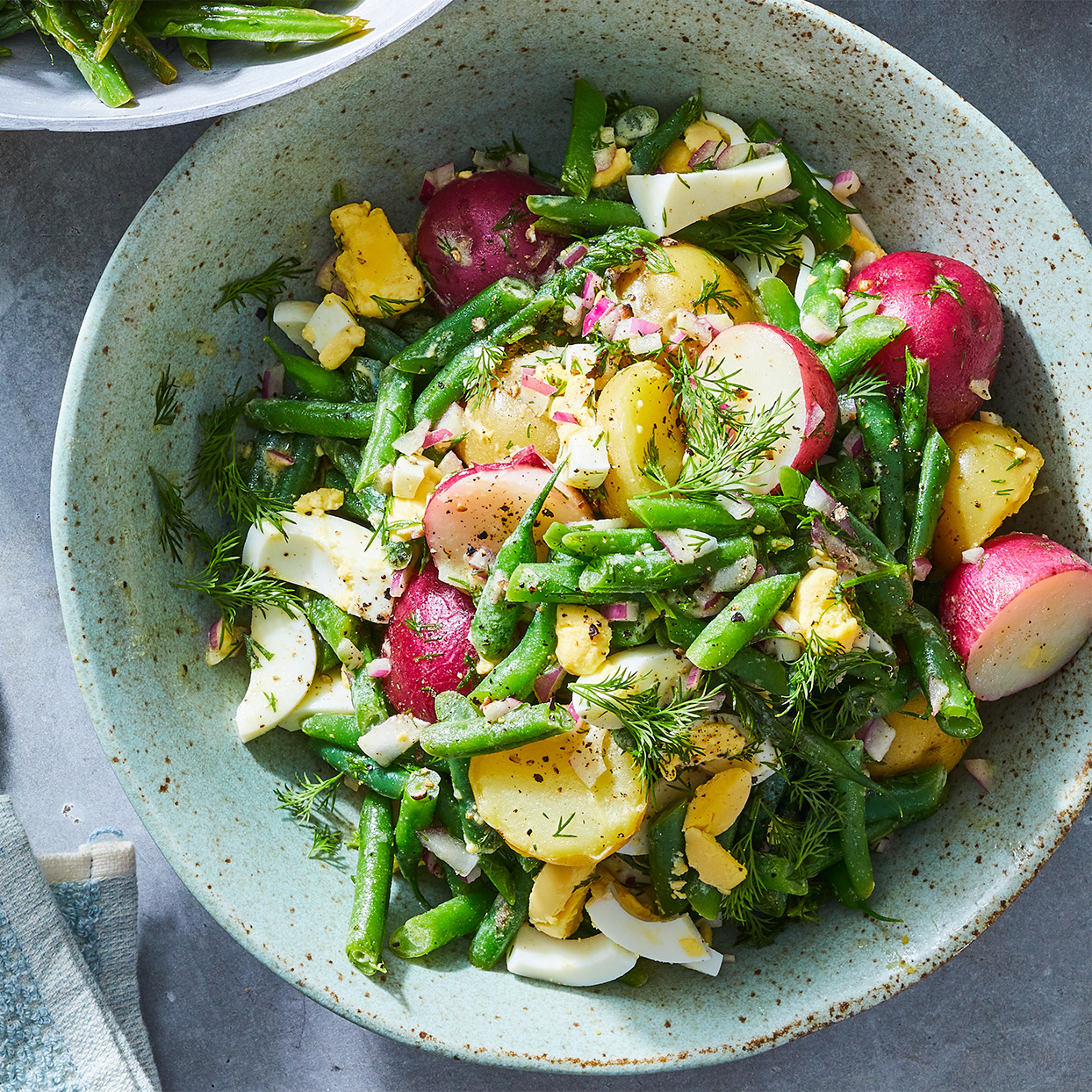 Dilly Potato Salad with Green Beans Hilary Meyer