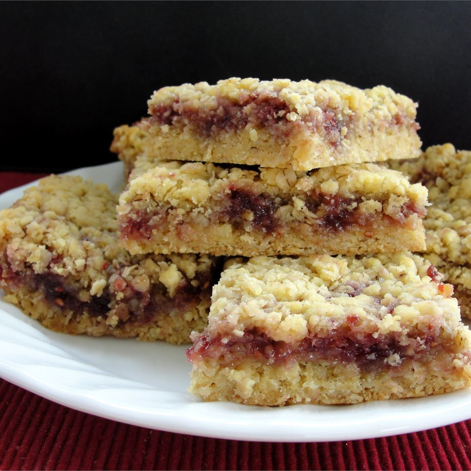 Raspberry Oatmeal Bars
