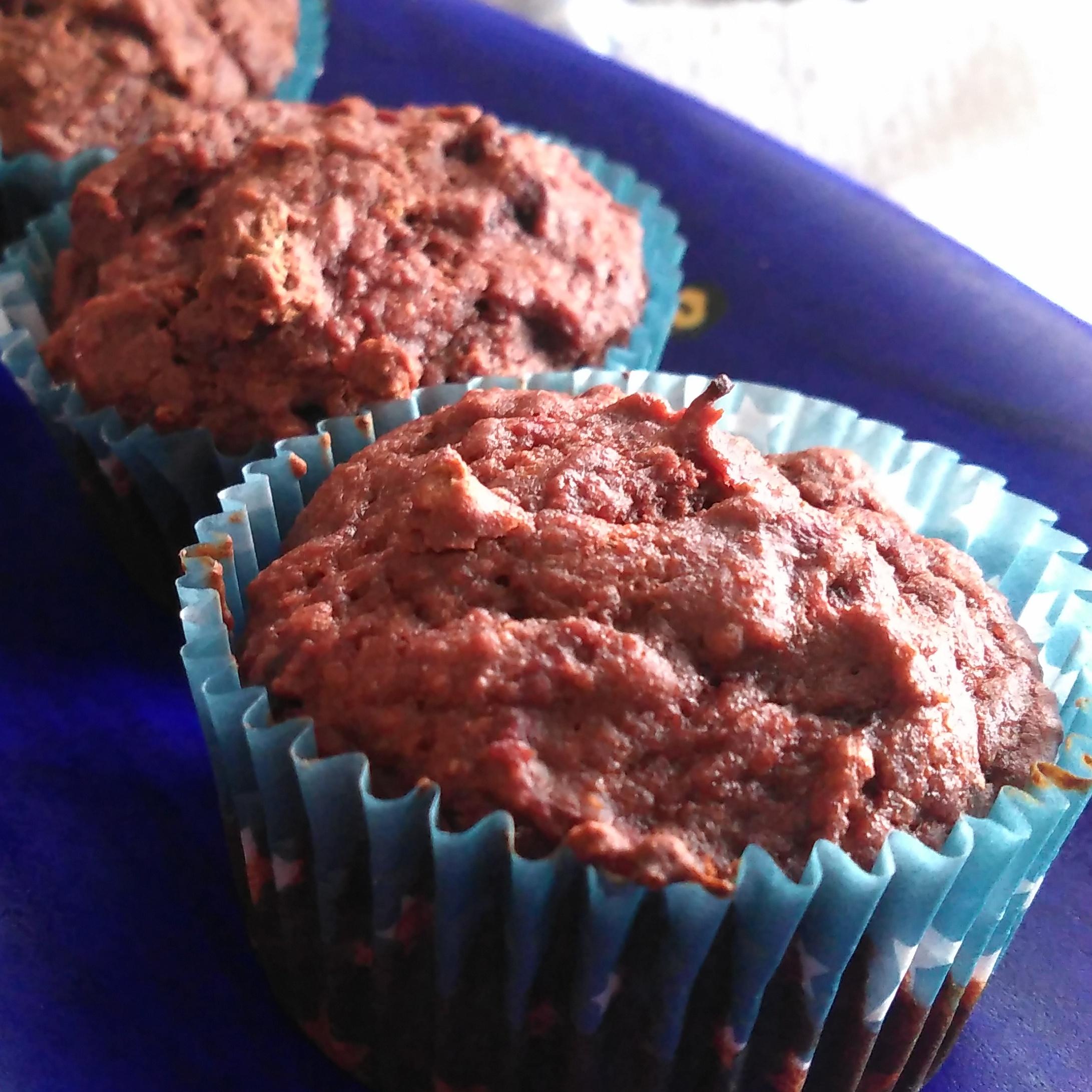 Chocolaty Beet Muffins