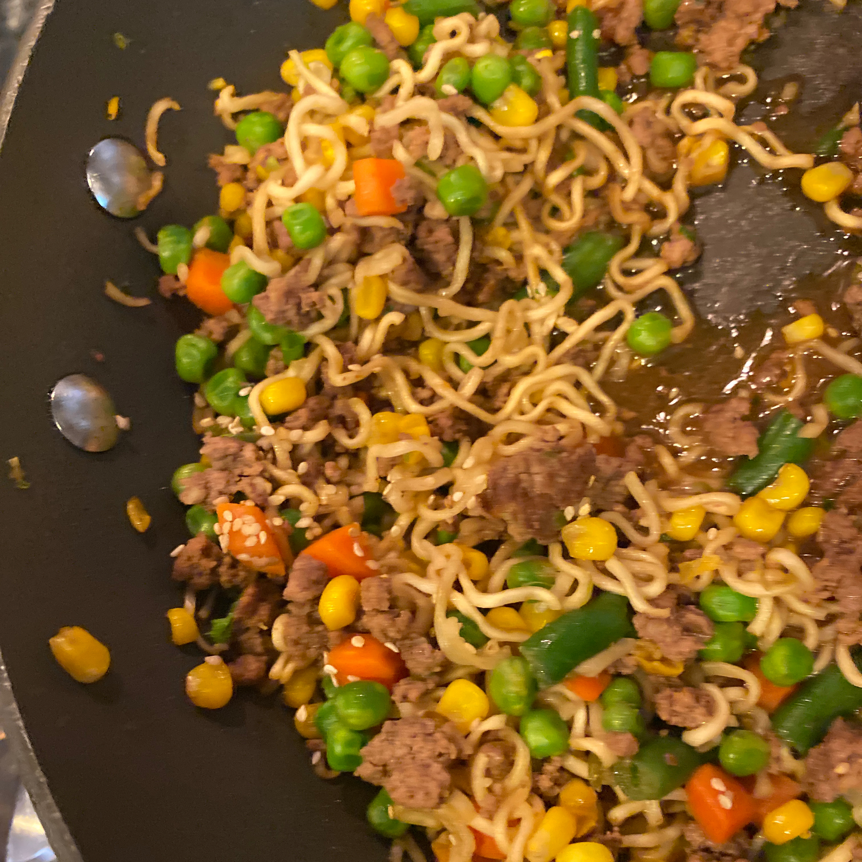 Asian Ground Beef Noodle Bowls tjackson2010