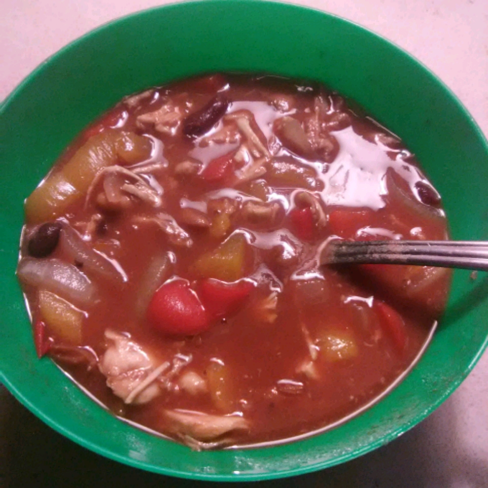 Slow Cooker Sweet Chicken Chili J.T. Fort