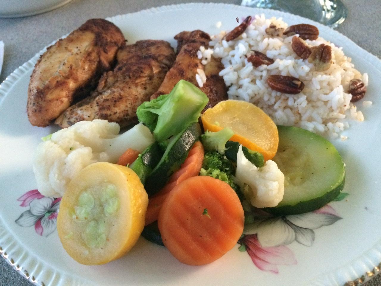 Pan-Seared Chicken Tenderloin