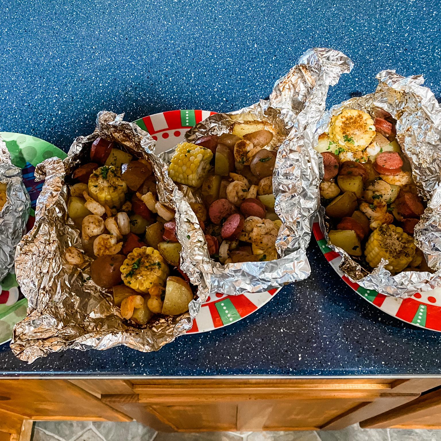 Grilled Cajun Seafood Boil Laurie Gardner