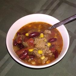 Easy Turkey Taco Soup