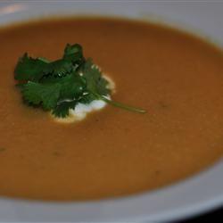 Curried Cauliflower-Sweet Potato Soup