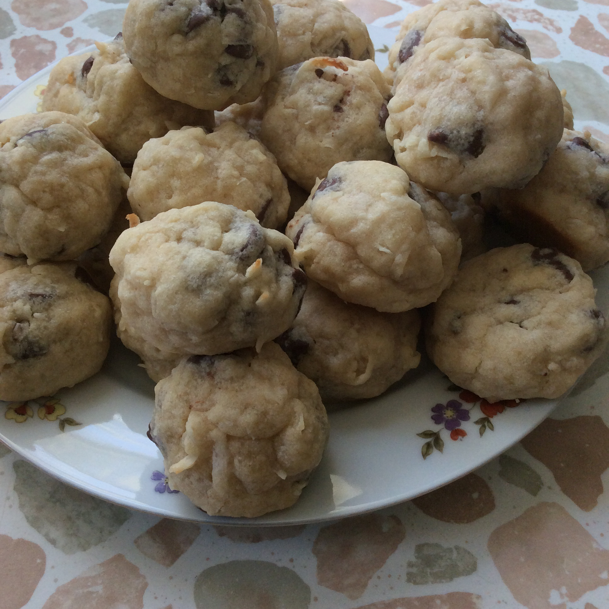 Donna's Coconut Almond Cookies
