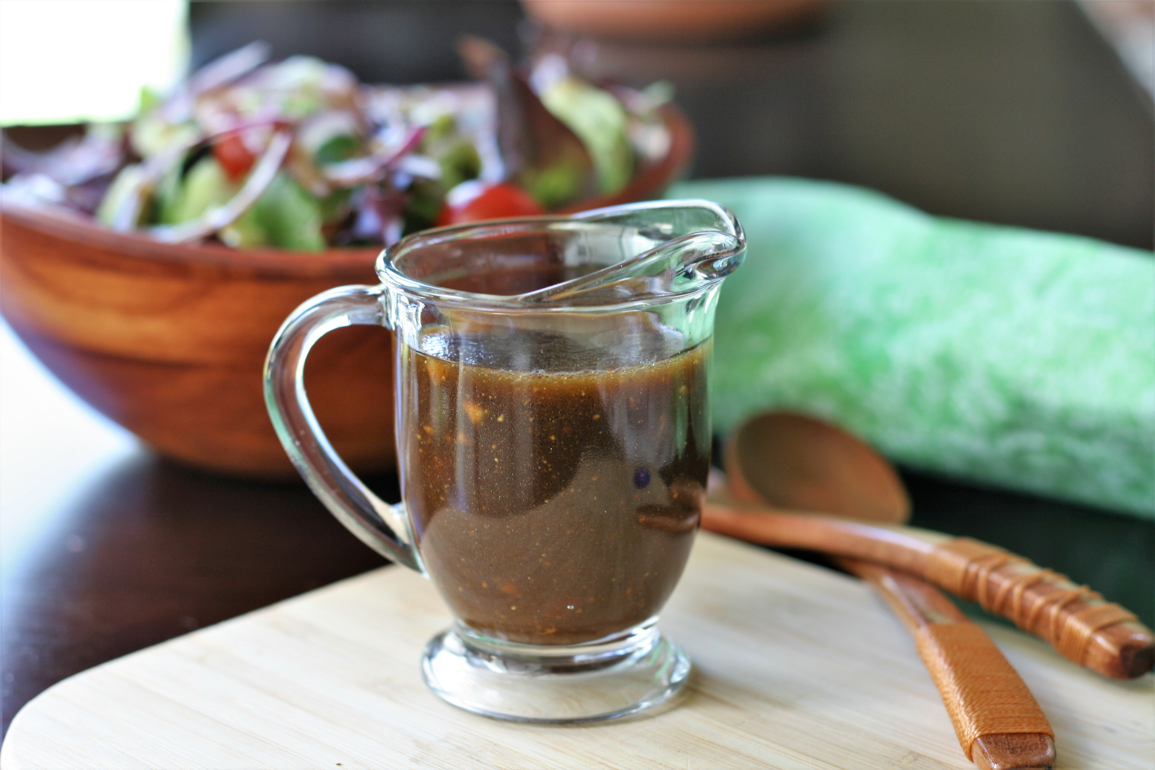 Simple and Flavorful Balsamic Vinaigrette