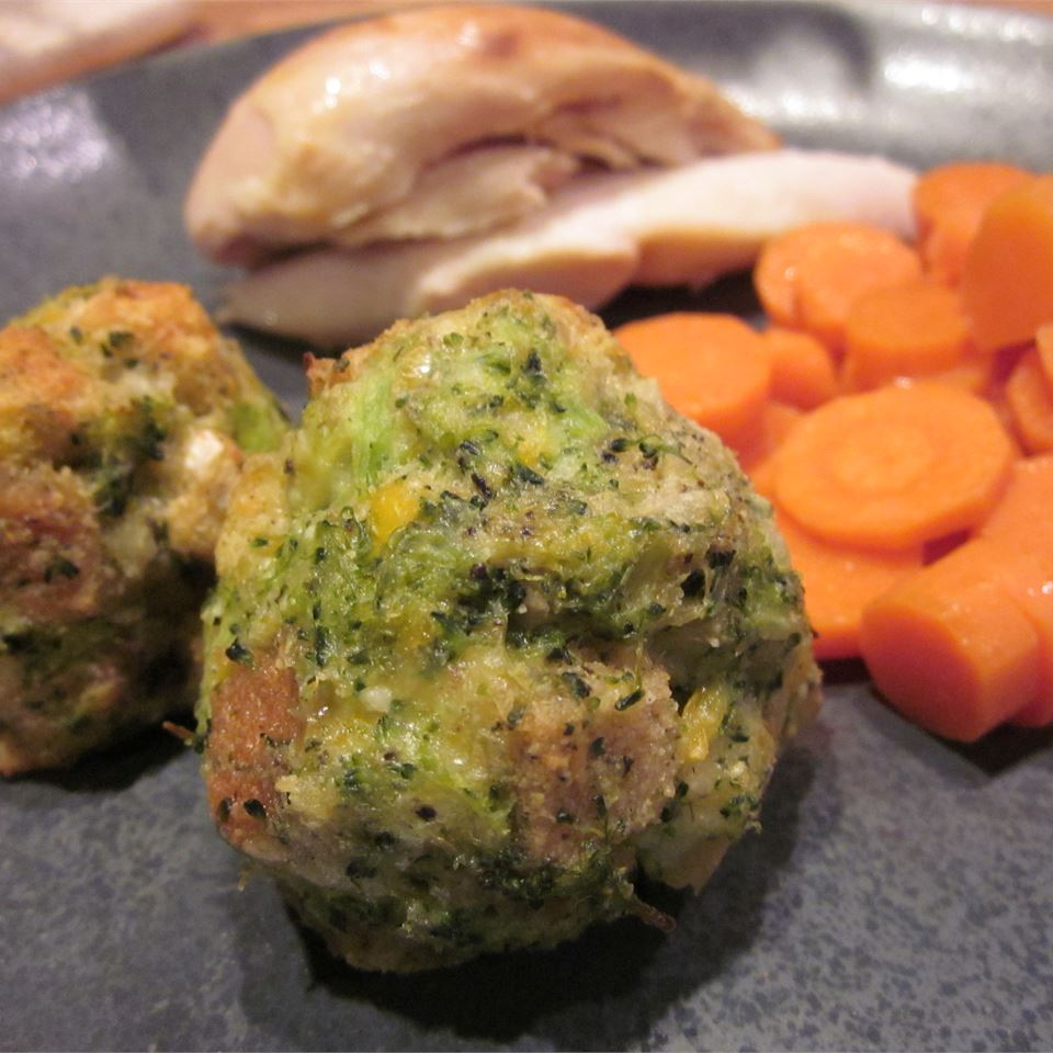 Parmesan Broccoli Balls Jessica Paige