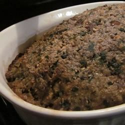 Simply Divine Meat Loaf with Spinach Jessica Paige