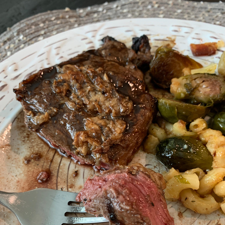 Garlic Steak with Garlic