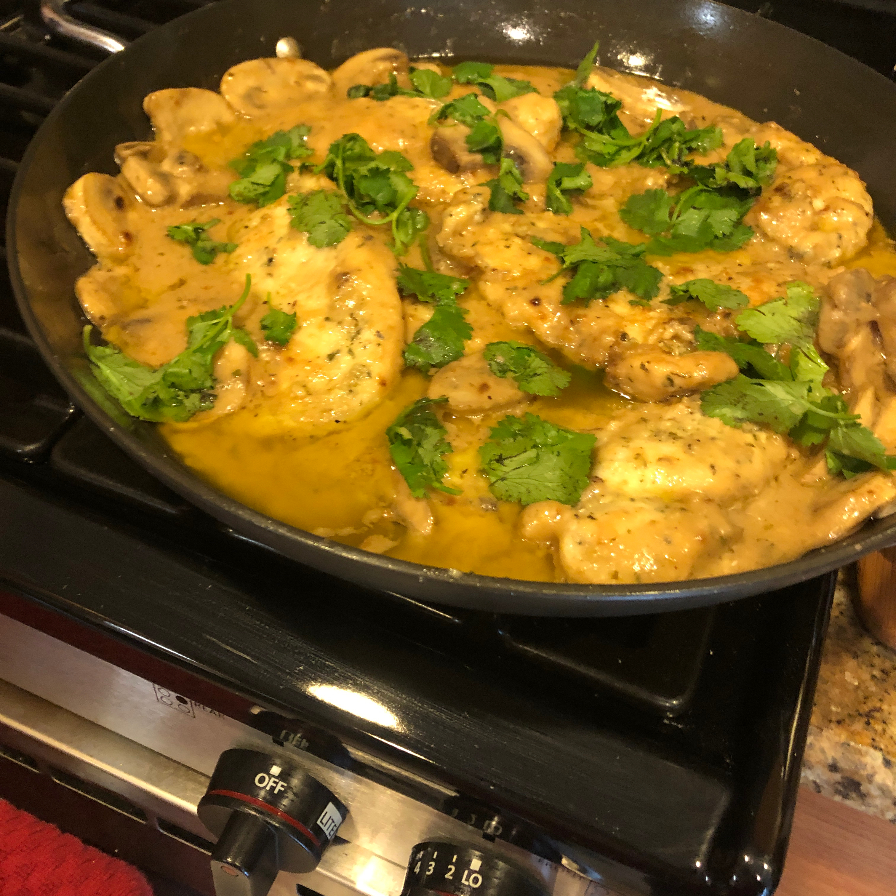 Easier Chicken Marsala