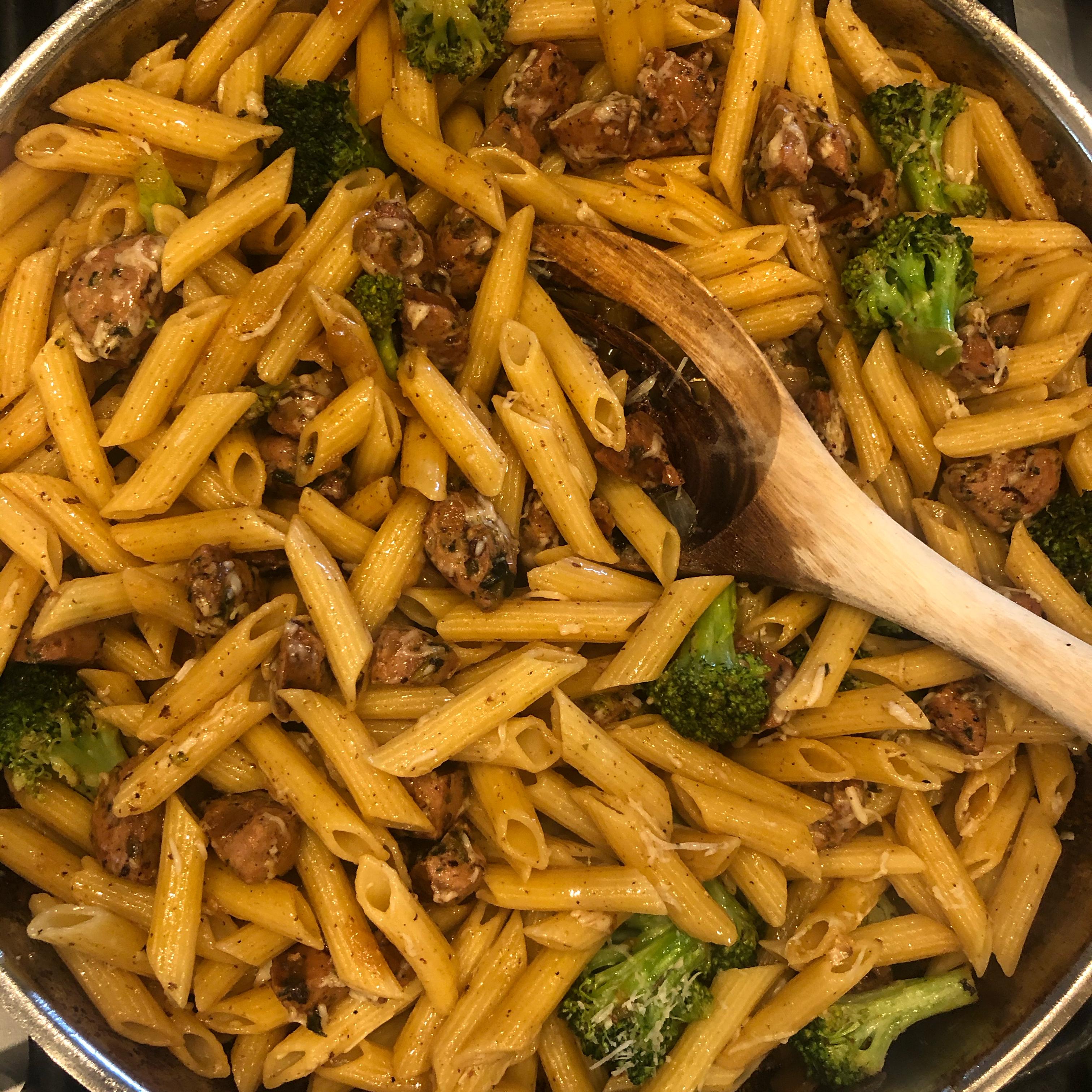 Lemon Broccolini and Sausage Pasta ufcat02