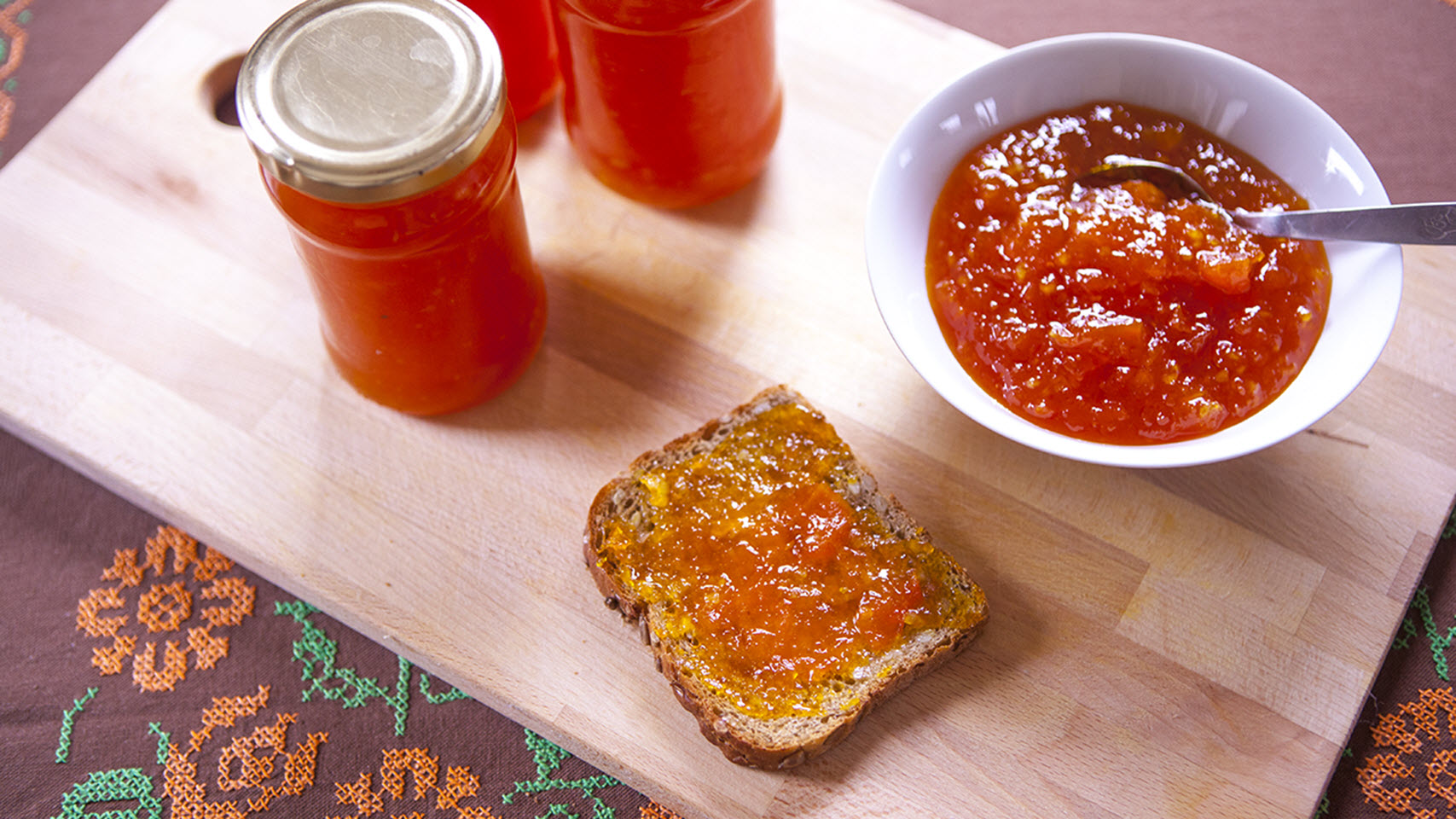 Pumpkin Ginger Jam